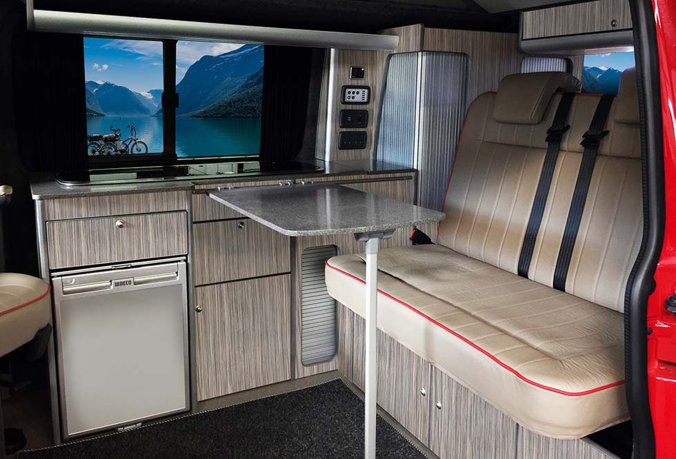 Latest Interior With Camper Van